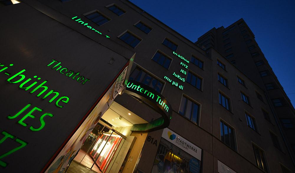 Theater tri-bühne, FITZ und JES im Tagblattturm in Stuttgart