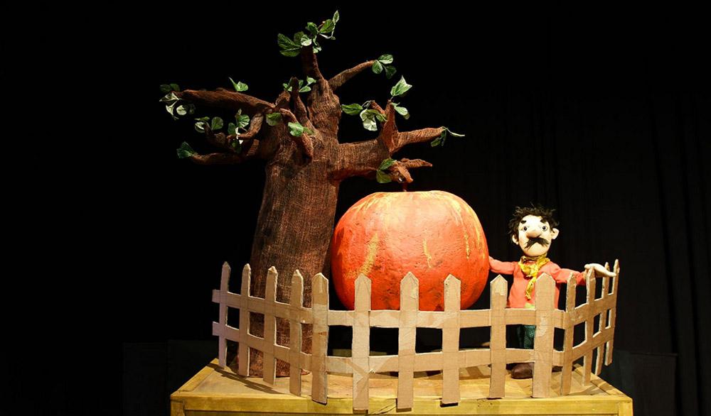 Theaterstück Das Apfelmännchen im Theater in der Badewanne