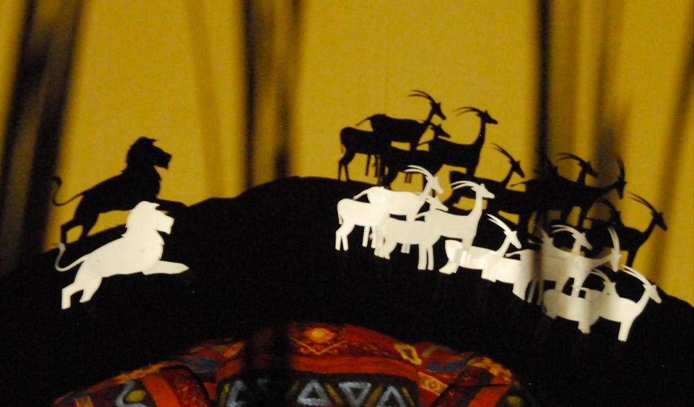 Theaterstück Der Löwe und die Maus im Theater in der Badewanne