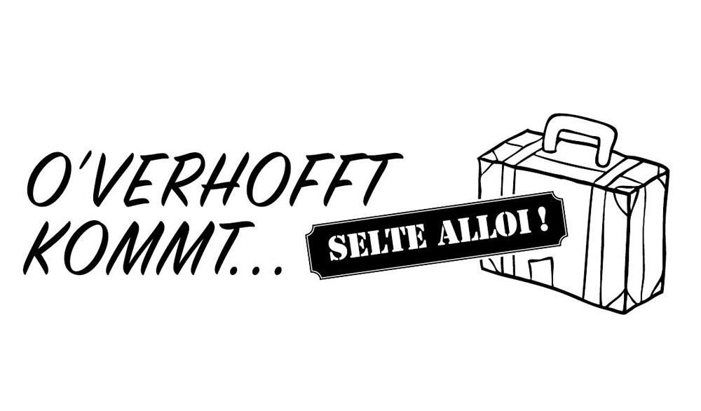 Theaterstück O'verhofft kommt selte alloi im Boulevärle Theater Stuttgart