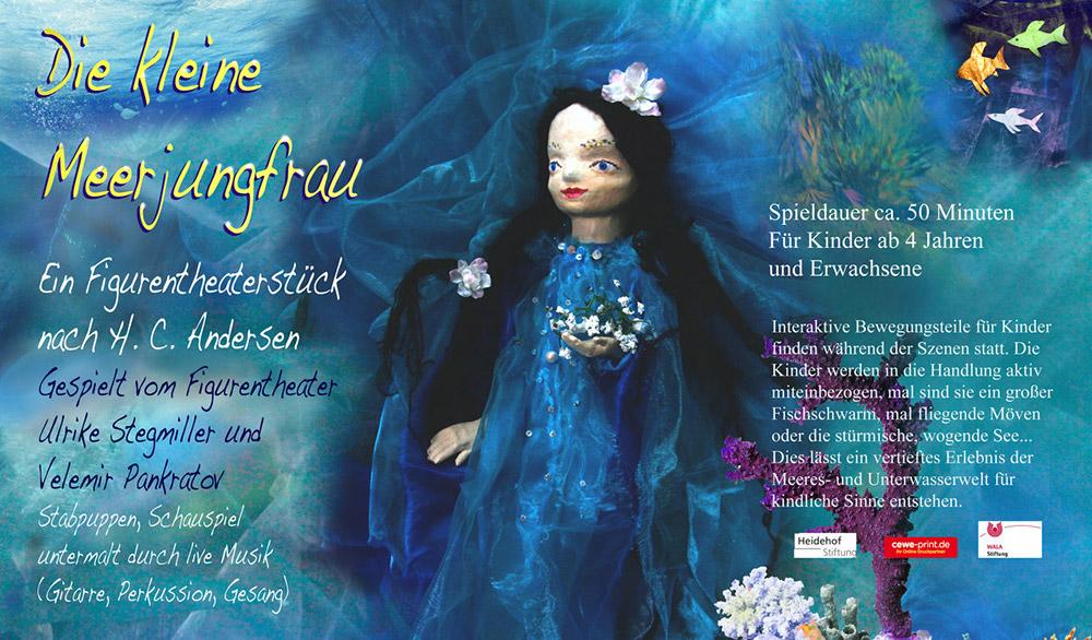 Theaterstück Die kleine Meerjungfrau im Theater Tredeschin Stuttgart