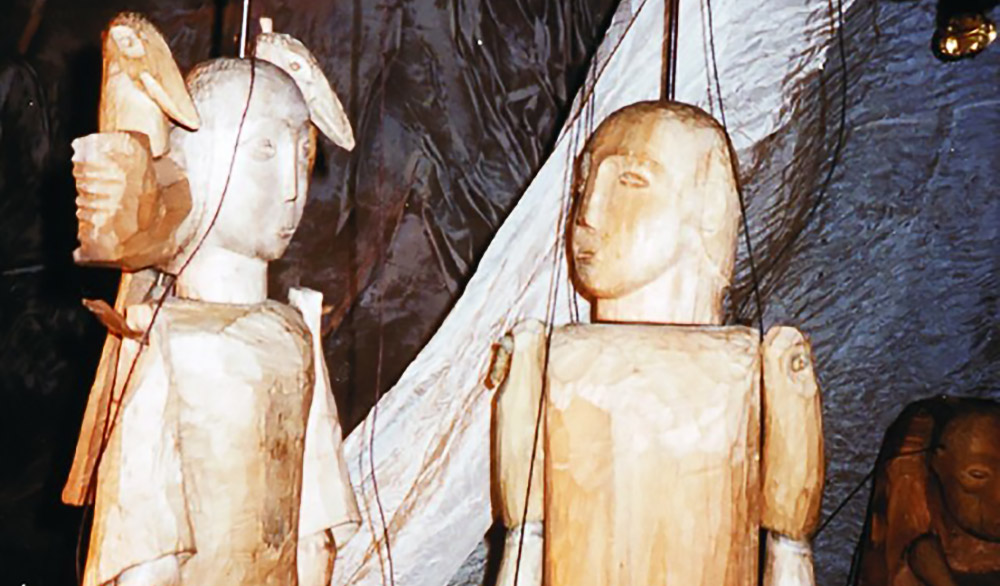 Theaterstück Die weiße Jaranga im Theater am Faden Stuttgart