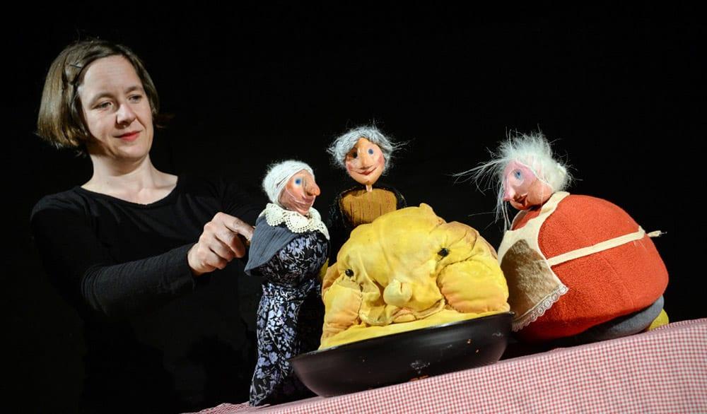 Theaterstück Vom dicken, fetten Pfannkuchen im Theater in der Badewanne Stuttgart