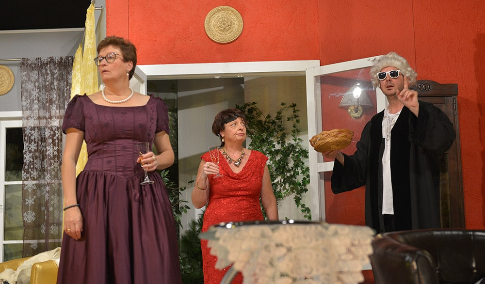 Theaterstück Proscht Neujahr im Boulevärle Theater Stuttgart