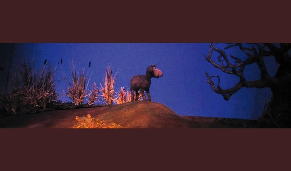 Theaterstück Vom schwarzen Schaf das weiß sein wollte im Theater in der Badewanne Stuttgart