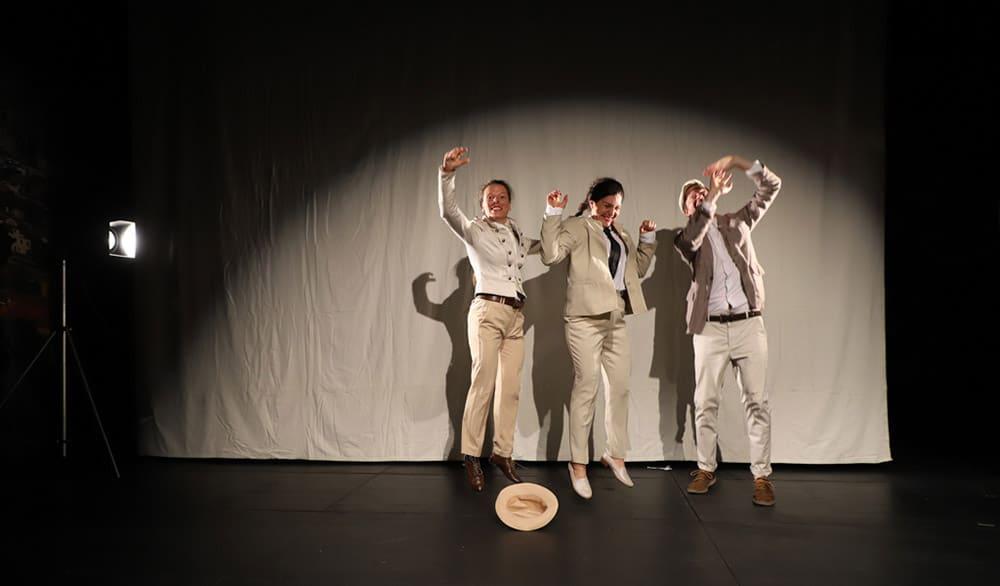 Theaterstück Triumph Liebe im Forum Theaeter Stuttgart