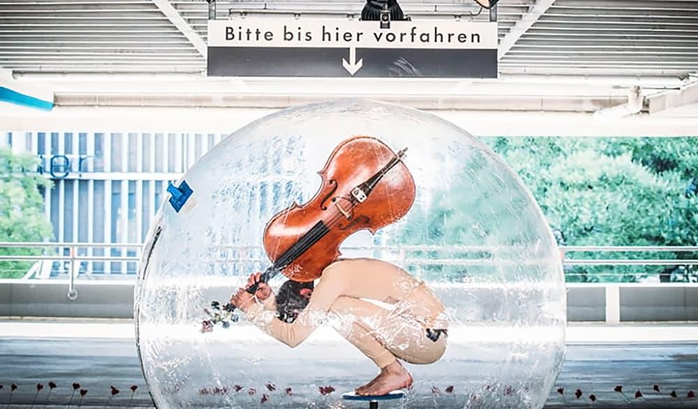 Theaterstück Vorher/Nachher - Die Verwandlung der Welt im Lokstoff! Theater Stuttgart